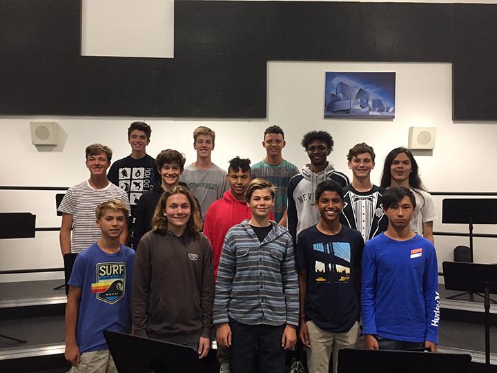2018-2019 choir